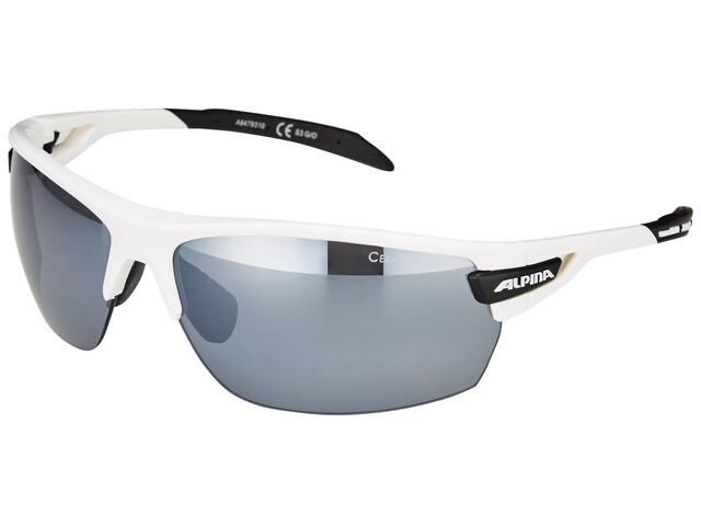 Alpina Tri-Scray Cykelbriller hvid